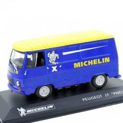 """Peugeot J7 """"Michelin"""" - 1/43ème"""
