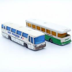 Lot de 2 Bus - Majorette - 1/87 ème Sans boite