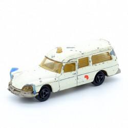 Citroen DS 21 Ambulance - Majorette N°206 - 1/65 ème Sans boite