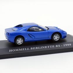 Hommell Berlinette RS de 1999 - 1/43 ème En boite