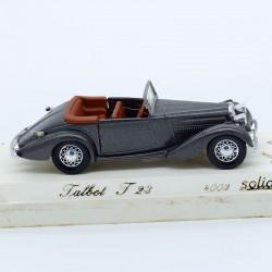 Talbot T23 - L'age d'or Solido - 1/43 ème En boite