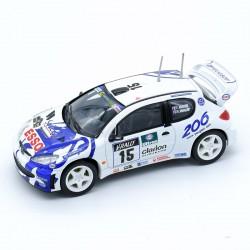 Peugeot 206 - Jadi - 1/43 ème Sans boite