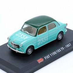 Fiat 1100/103 TV 1957 - 1/43ème sur socle