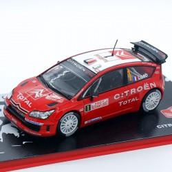 Citroen C4 WRC - Rallye Monte Carlo 2007 - au 1/43 en boite