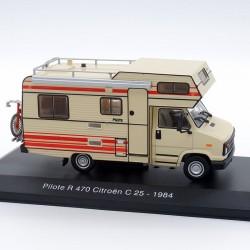Camping Car Citroen C25 Pilote R470 de 1984 - 1/43ème