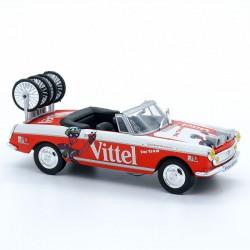 """Peugeot 404 Cabriolet """" Vittel """" - 1/43 ème En blister"""