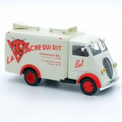 """Peugeot DMA """" La Vache qui Rit """" - 1/43 ème Sous blister"""
