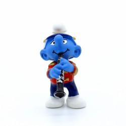 Figurine Schtroumpf - Schleich - Schtroumpf Clarinette - Germany Peyo
