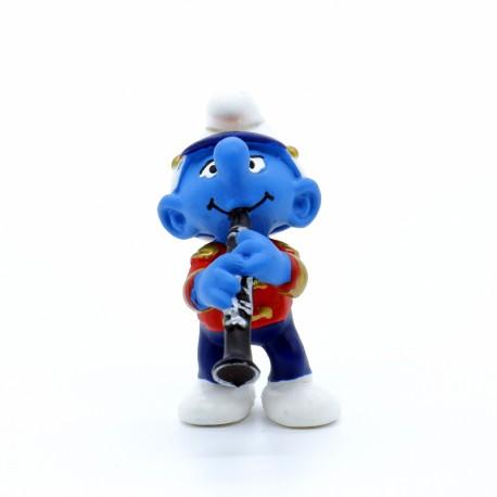 Figurine Schtroumpf - Schleich - Schtroumpf Clarinette - Germany Peyo.