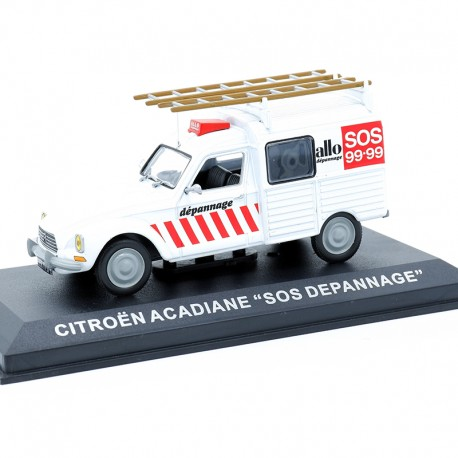 "Citroen Acadiane ""SOS Depannage"" - au 1/43 en boite"