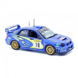 Subaru Impreza WRC - New Zealand Rally 2003 - 1/43 ème sans boite