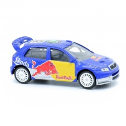 Skoda Fabia WRC 2007 - Red Bull - 3 Inches