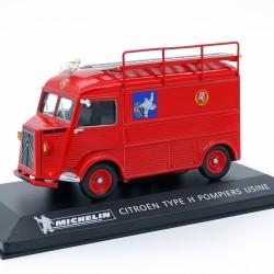 """Citroen Type H Pompiers Usine """" Michelin """" - 1/43 ème Sous Blister"""