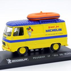 """Peugeot J7 Michelin """" Jeu de Plage """" - 1/43ème Sous blister"""