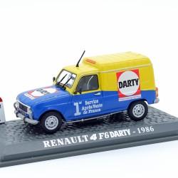 """Renault 4 F6 """" Darty """" - 1/43 ème En boite"""