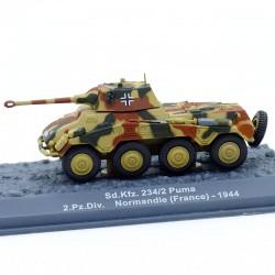 Tank Sd.Kfz. 234/2 Puma - 1/72 ème En boite