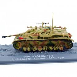 Tank StuG. IV (Sd.Kfz. 167) - 1/72 ème En boite