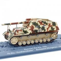 Tank Hummel (Sd.Kfz. 165) - 1/72 ème En boite