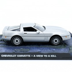 Chevrolet Corvette - A View to a Kill - 1/43 ème En boite