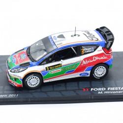 Ford Fiesta RS WRC - Rally Sweden 2011 - 1/43 ème En boite