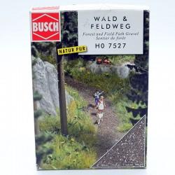Flocage - Sentier de Forêt - Busch - HO En boite