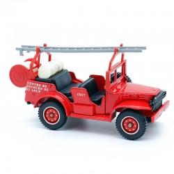 Pompier Dodge 4x4 - Solido - 1/43 ème Sous blister