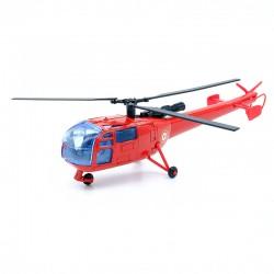 Hélicoptère Alouette Pompier - Solido - 1/55ème en blister