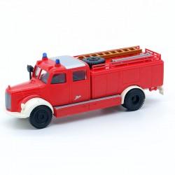 Camion de Pompier Mercedes - Brekina - 1/87ème En boite