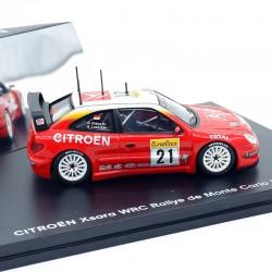 Citroen Xsara WRC - Rallye de Monte Carlo 2002 - Citroen - 1/43 ème En boite