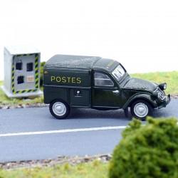 Citroen 2cv Camionnette La Poste - Universal Hobbies - 1/87 ème en boite