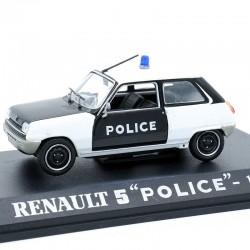 """Renault 5 """" Police """" de 1974 - 1/43 ème En boite"""