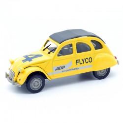 """Citroen 2cv """" Aéroports De Paris """" - Norev - 1/43 ème Sous blister"""