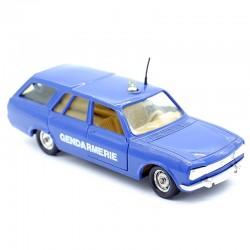 """Peugeot 504 Break """"Gendarmerie"""" - Solido - 1/43ème en boite"""
