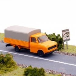 Ford Transit Baché - Herpa - 1/87 ème En boite