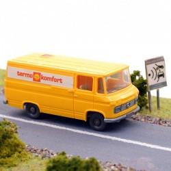"""Fourgon Mercedes """" Shell """" - Wiking - 1/87ème En boite"""