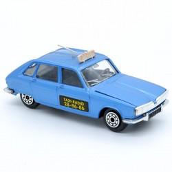 Renault 16 TX Taxi Radio - Jet Car Norev - 1/43ème Sans boite