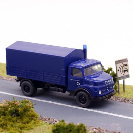 Camion Mercedes THW - Wiking - 1/87ème En boite