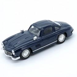 Mercedes 300 SL (Bleu Nuit) - Age d'or Solido - 1/43ème