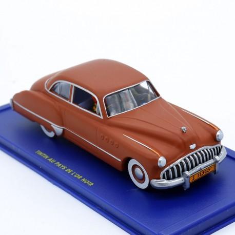 Buick Roadmaster TINTIN au 1/43ème en résine Tintin au pays de l'or Noir