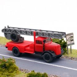 Camion de pompier Scania - Wiking - 1/87ème En boite