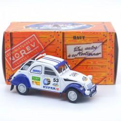 Citroen 2CV Rallye - 1/43ème