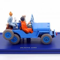 Tintin - La Jeep d'objectif Lune - 1/43ème En boite