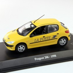 Peugeot 206 - La Poste 1998 - 1/43 En boite