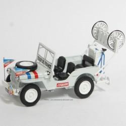 Jeep Willys Assistance - Norev - Tour de France 1951 - au 1/43 sous blister