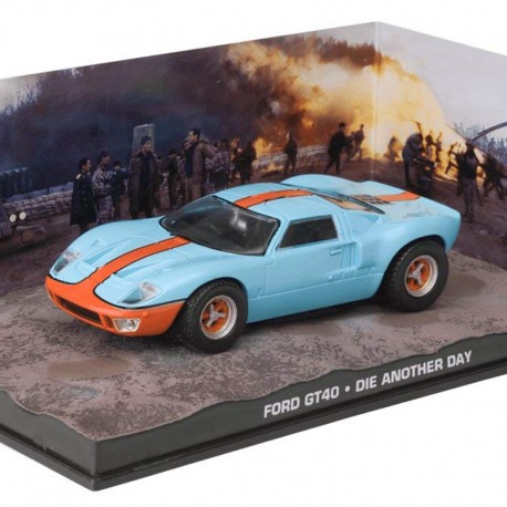 Ford GT40 - Die Another Day - James Bond - 1/43 en boite