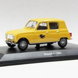 Renault 4 1962 - La Poste - au 1/43 en boite