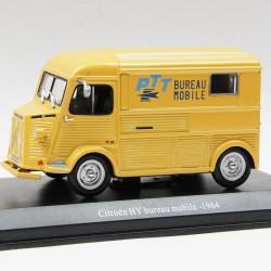 Citroen HY Bureau Mobile 1964 - La Poste - 1/43ème en boite