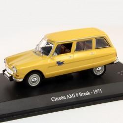 Citroen AMI 8 Break 1971 - La Poste - 1/43ème en boite