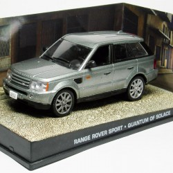 Range Rover Sport - Quantum of Solace - James Bond - au 1/43 en boite