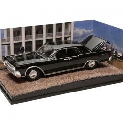 Lincoln Continental - Goldfinger - James Bond -  1/43ème en boite